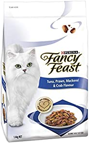 Fancy Feast - Tuna, Prawn, Mackerel & Crab Cat Food, Adult, 1.