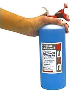 車内専用 洗剤 (布地、天井、マットなど如何なる場所にも使用可能)『バカ落ちルークリ洗剤 1L (スプレーガン付き)』 ルーム クリーナー 内装洗浄剤