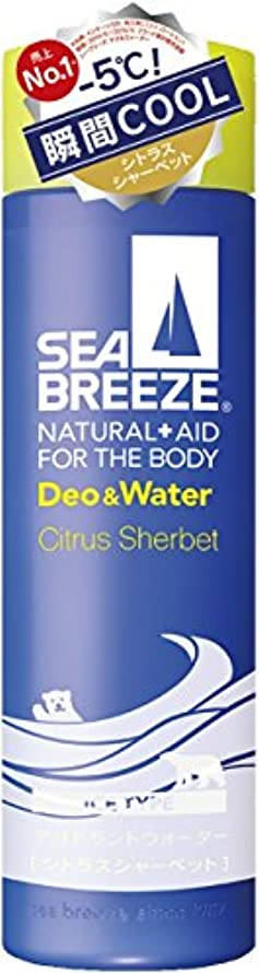 よろめく慰め特派員シーブリーズ デオ&ウォーター アイスタイプ シトラスシャーベットの香り 160ml (医薬部外品)