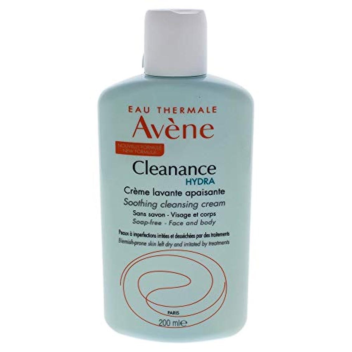 黒解き明かす解き明かすアベンヌ Cleanance HYDRA Soothing Cleansing Cream - For Blemish-Prone Skin Left Dry & Irritated by Treatments 200ml/6.7oz並行輸入品