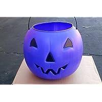 Halloween Pumpkin Jack O' Lantern Candy Bucket (Purple) by General Foam Plastics
