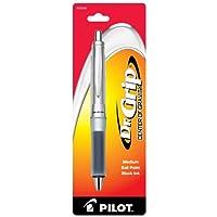 パイロットDr。Grip Center of Gravityボールペン格納式ペン, Medium 1 EA