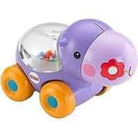 フィッシャープライスPoppity Pop Hippo、encourages赤ちゃんをプッシュとcrawl-along