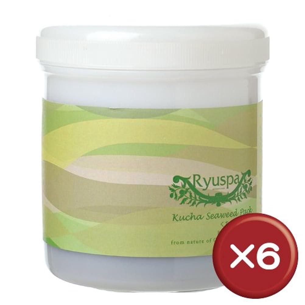 謎アイスクリームアクロバットRyuspa クチャ海藻パック 500g 6本セット