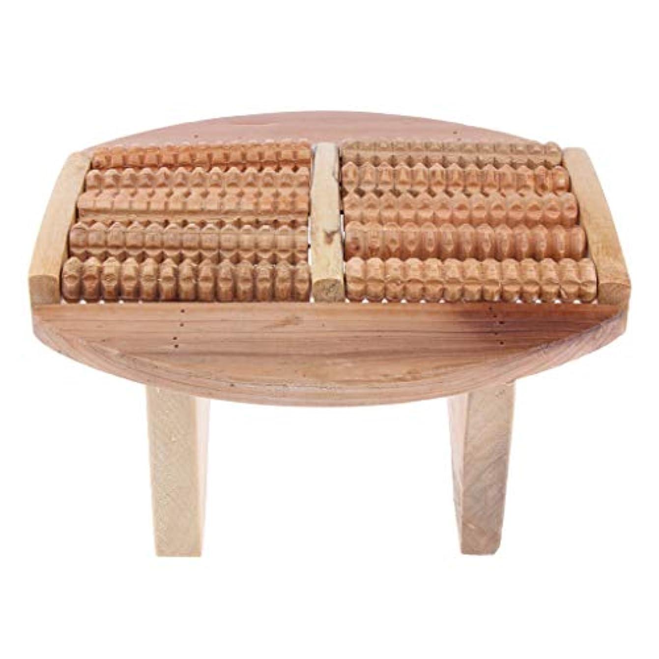長椅子初期の円形フットマッサージスツール 多機能デザイン 足のマッサージ SPA バレル マッサージローラー