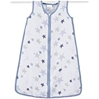 aden + anais (エイデンアンドアネイ) 【日本正規品】 クラシック スリーピング バッグ (スリーパー) rock star sleeping bag (L) 8096