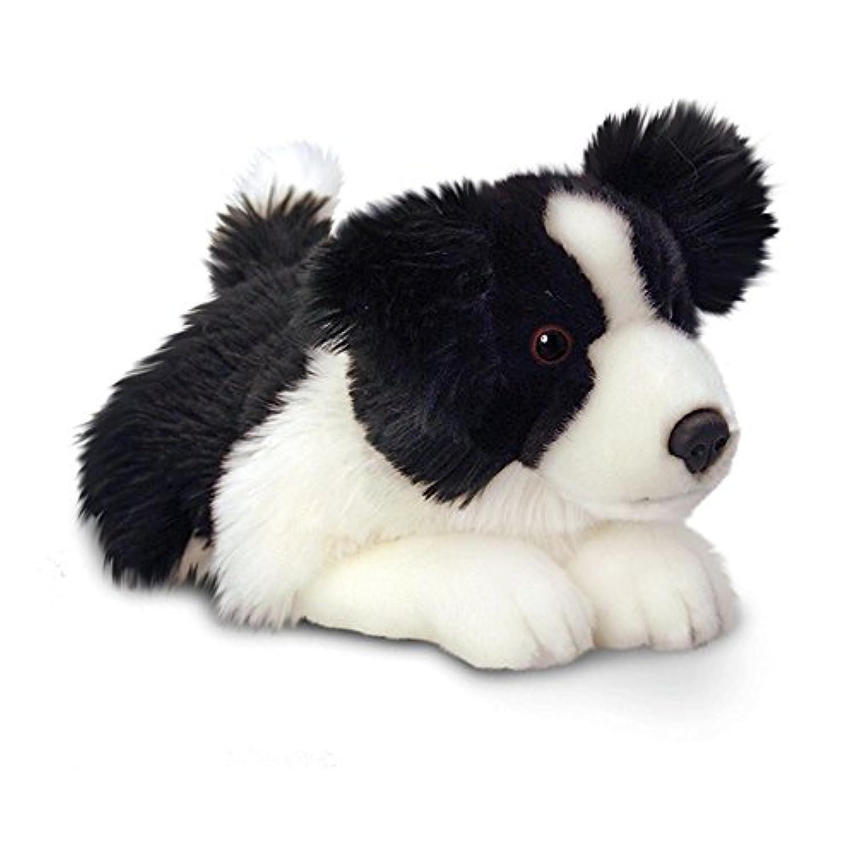 (キール?トイズ) Keel Toys ボーダー?コリー Jessi イヌのぬいぐるみ プラッシュトイ (35cm) (ブラック/ホワイト)