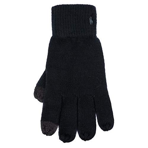 (ポロラルフローレン) POLO RALPH LAUREN 手袋 PC0220 ブラック 001