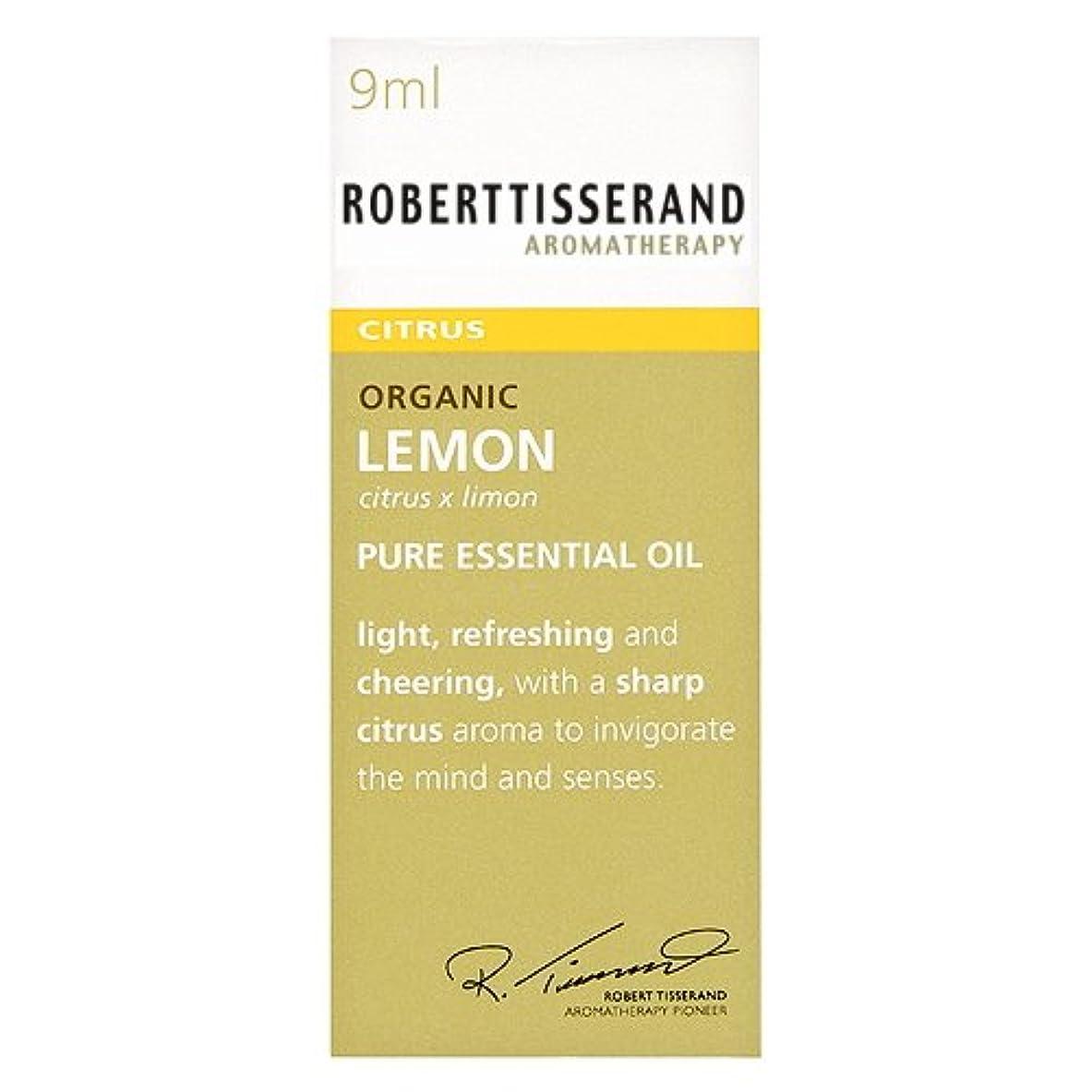 箱装備する無許可ロバートティスランド 英国土壌協会認証 オーガニック レモン 9ml
