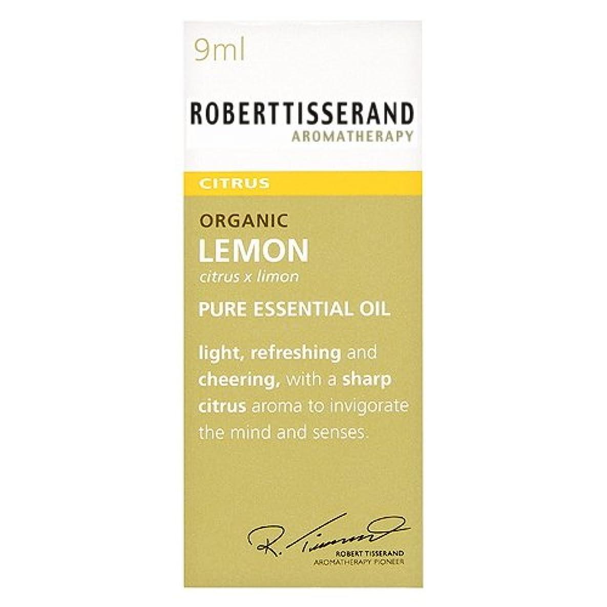 悲劇的なチロ無駄なロバートティスランド 英国土壌協会認証 オーガニック レモン 9ml