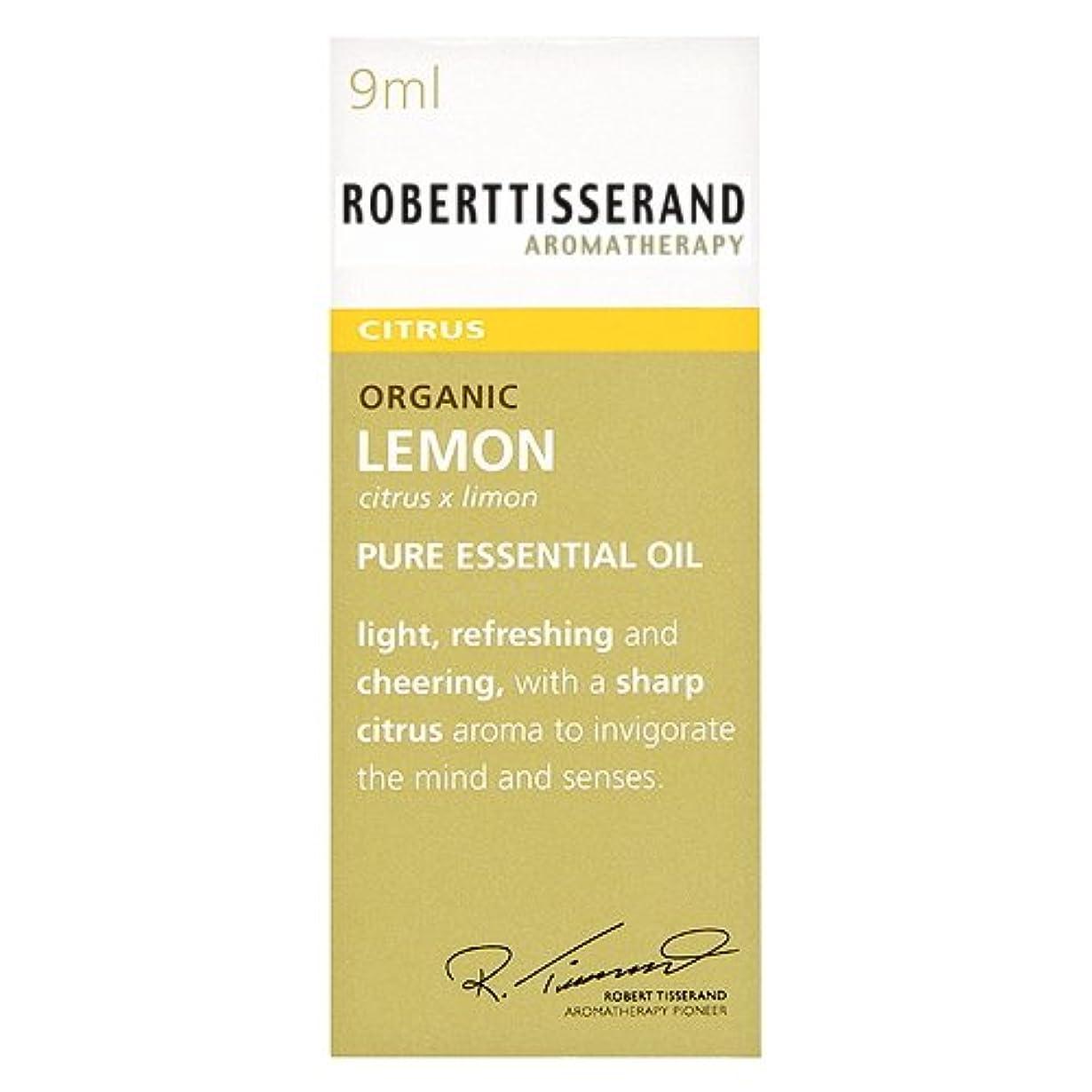 何でも腕免除ロバートティスランド 英国土壌協会認証 オーガニック レモン 9ml