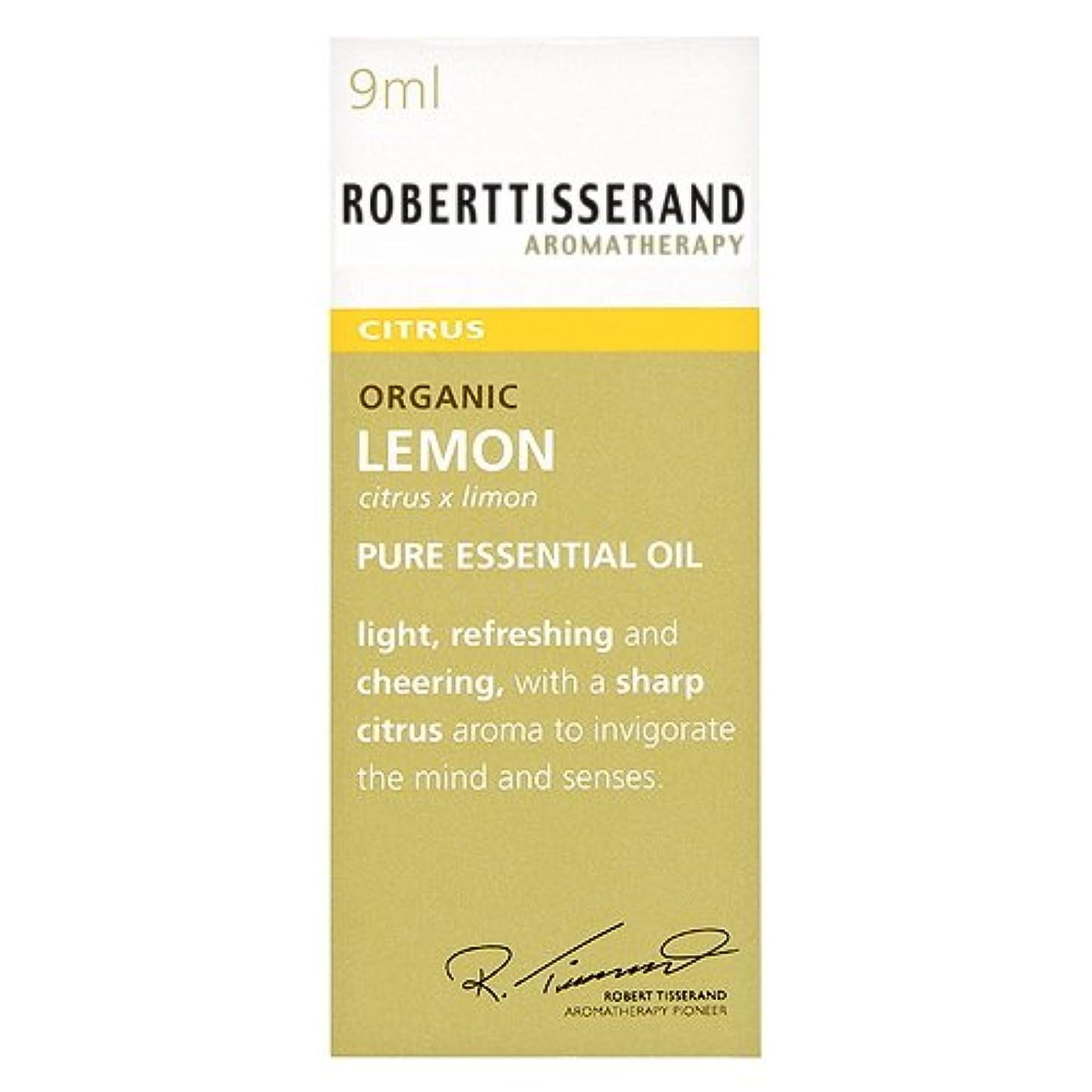 ひまわり手首くつろぐロバートティスランド 英国土壌協会認証 オーガニック レモン 9ml