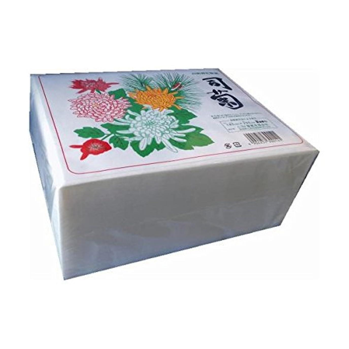 ゆるい容器悪性ニヨド製紙:高級御化粧紙 司菊 800枚 5個 4904257300141b
