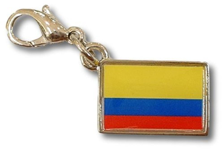 NATIONALFLAG 国旗柄ファスナーホルダー コロンビア共和国 07155-0