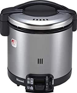 リンナイ こがまる ガス炊飯器 5.5合炊き・ブラック・都市ガス13A用 RR-055GS-D 13A