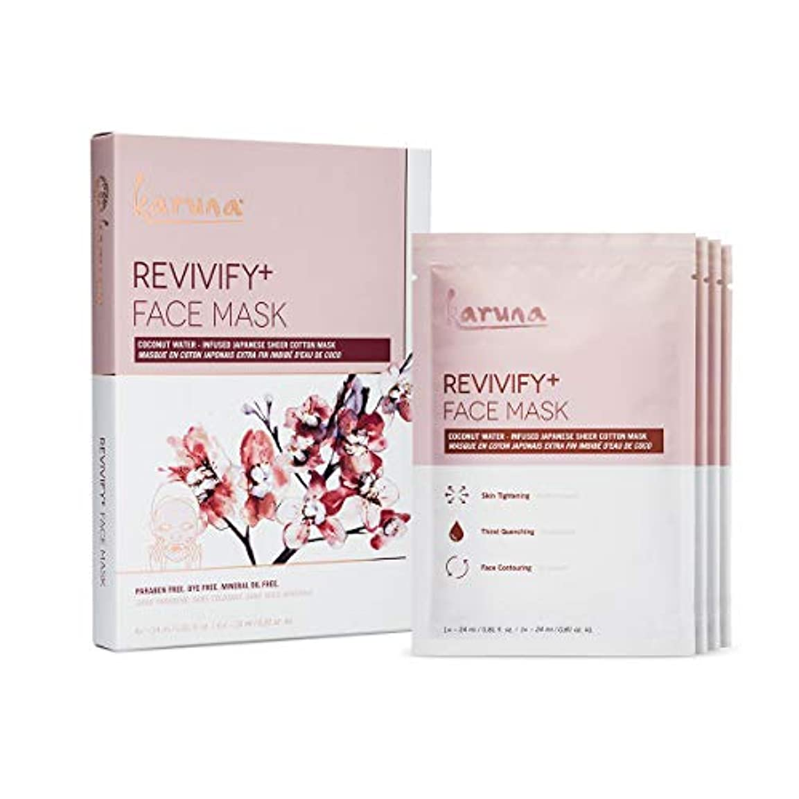 Karuna Revivify+ Face Mask 4sheets並行輸入品
