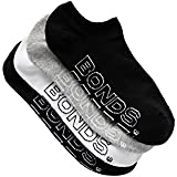Bonds Women's Cotton Blend Logo Light No Show Sport Socks (4 Pack)
