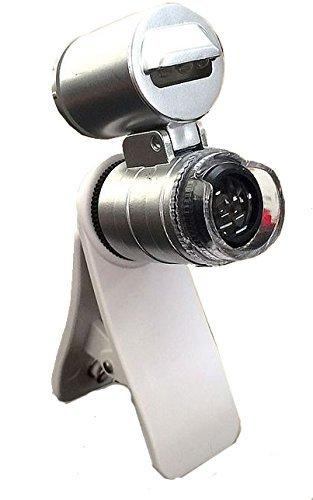 COM-SHOT 【 スマホのカメラが顕微鏡に 】 簡単取付け スマホ用 マ...