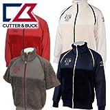 ● CUTTER&BUCK カッター&バック 2WAY ミドラー 長袖ブルゾン CBM4621 サンセットレッドR349,L