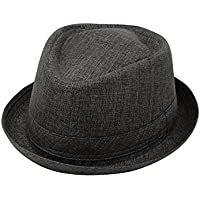 ChicHeadwear Womens 100% Poly Pork-Pie Fedora Hat