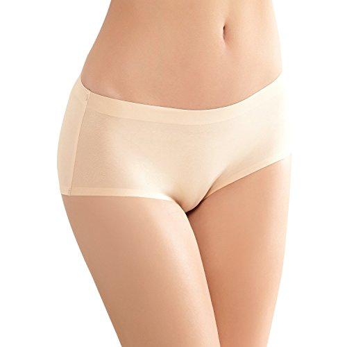 Anzermix 無縫製 丈普通 ひびきにくい シームレス ショーツ 6枚セット 清涼の彩り サイズ M
