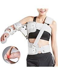 調節可能なアームスリング外転枕骨折肘サポートブレース、傷害回復アーム固定、転位回旋腱板滑液包炎腱炎、ワンサイズ - ユニセックス