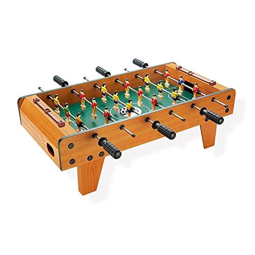 邪魔思いやり舌ミニテーブルトップフーズボール表とミニテーブルトップサッカーゲームテーブル屋内および屋外のサッカーゲームキッズ大人のおもちゃ