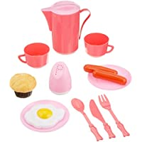 Little Treasures Mini Dinnerware Pretend FoodおもちゃPlayセット