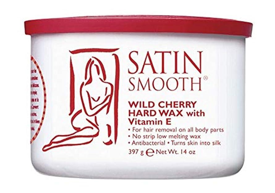 天井クロニクル設計図Satin Smooth Wild Cherry Hard Wax with Vitamin E, 14 oz. 141[並行輸入]