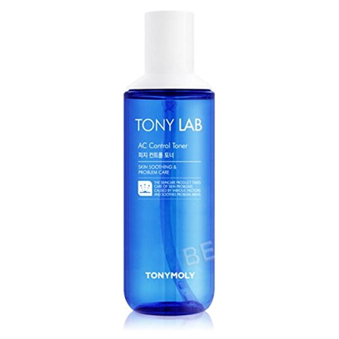 ストライド戦略なに(3 Pack) TONYMOLY Tony Lab AC Control Toner (並行輸入品)