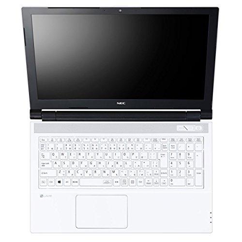 NEC LAVIE Smart NS(e) 2017年2月 Windows10・Office2016 Home & Business Premium・Celeronデュアルコア4GB・HDD500GB・高速無線LAN・年賀状ソフト筆ぐるめ・Bluetoothレーザーマウス付 PC-SN16C (エクストラホワイト)
