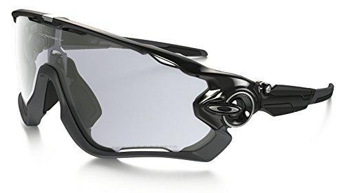 OO9290 14 サイズ OAKLEY (オークリー) サングラス JAWBREAKER PHOTOCHROMIC Polished Black Clear Black Iridium Photochromic Activated OO9290-14 ジョーブレイカー ジョーブレーカー 調光 フォトクロミック スポーツ メンズ レディース