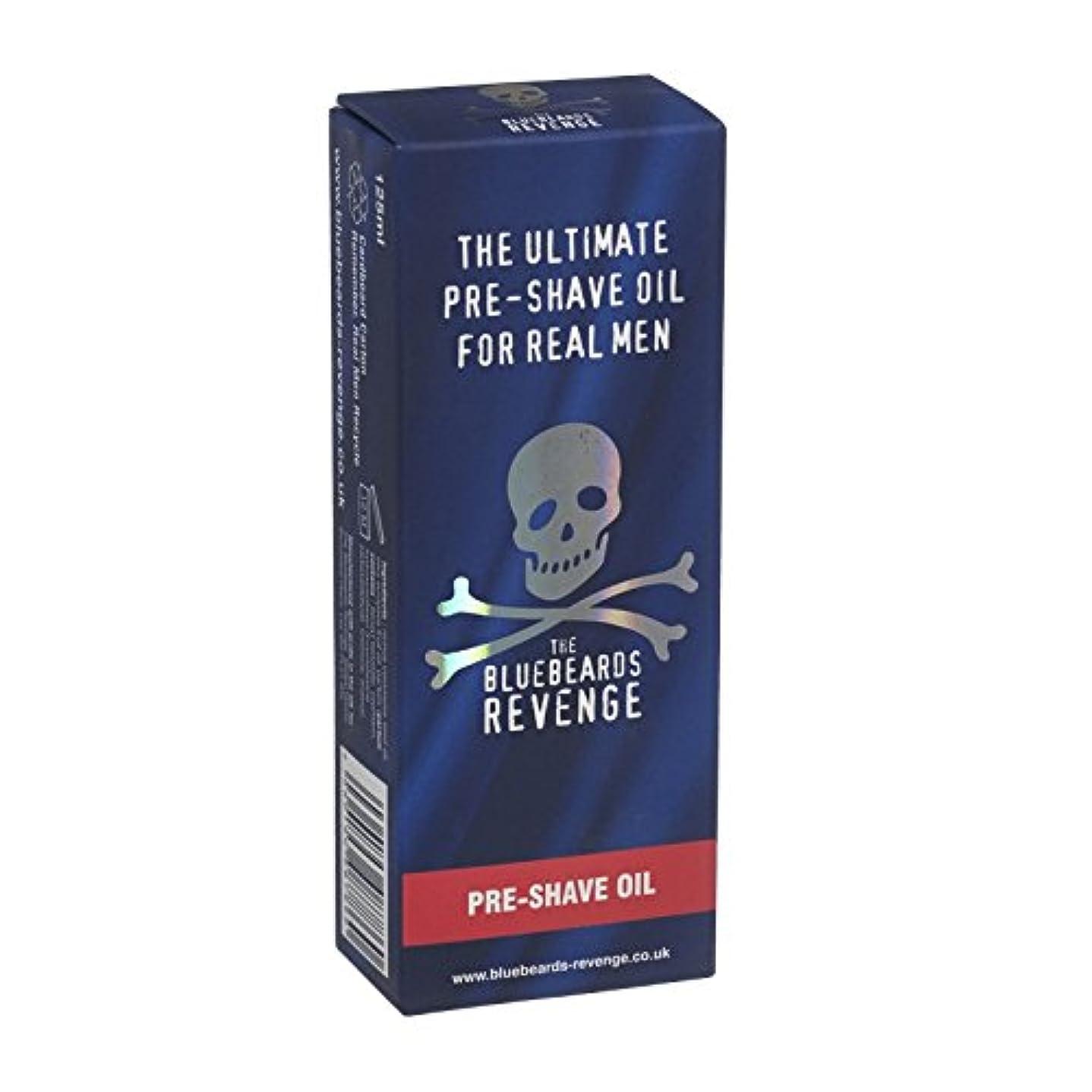 ワイプコート方法論ブルービアーズ復讐のプレシェイブローションオイル - Bluebeards Revenge PreShave Oil (Bluebeards Revenge) [並行輸入品]