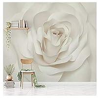 現代のロマンチックなバラの花 - 壁画取り外し可能なドアのステッカーポスターホーム用ホームDIYアートの装飾290cm(W)×220cm(H)