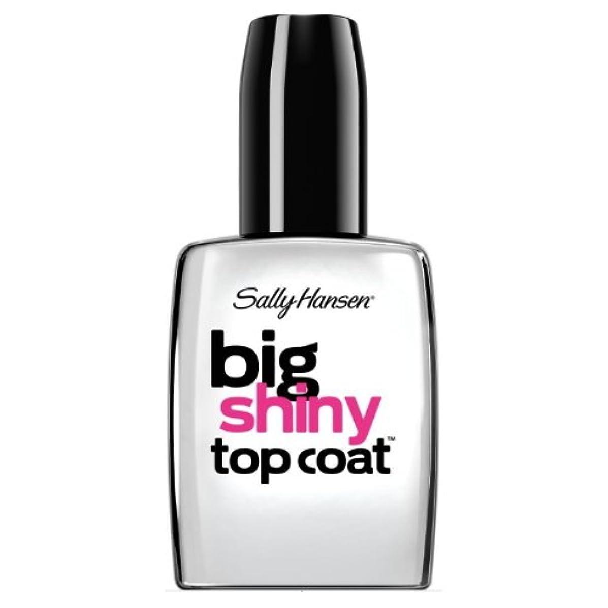 洞窟絞る空いているSALLY HANSEN Big Shiny Top Coat - Shiny Top Coat (並行輸入品)