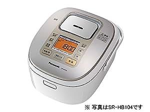 パナソニック 1升 炊飯器 IH式 ホワイト SR-HB184-W