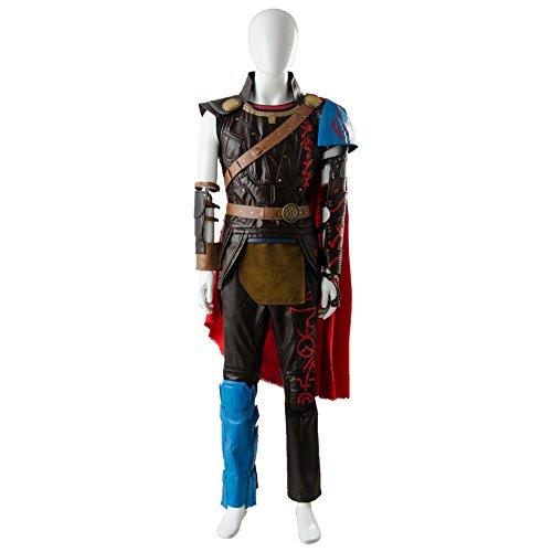 mrcos マイティ・ソー バトルロイヤル Thor: Ragnarok コスプレ Thor ソー コスプレ 衣装 男性L