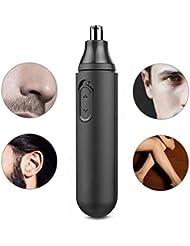 男性の女性のための電子鼻の耳の毛のトリマー痛みのないトリミング耐水性の二重端の刃電池式