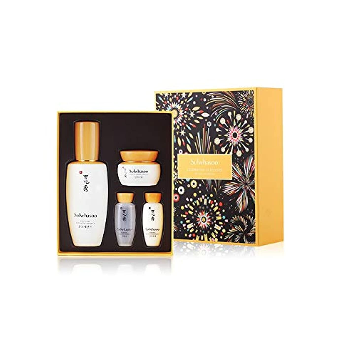 [Sulwhasoo] ソルファス ユンジョエッセンス EX 90ml ホリディコレクション 限定版(Celebration Of Festive5 Holiday Collection First Care Activating...