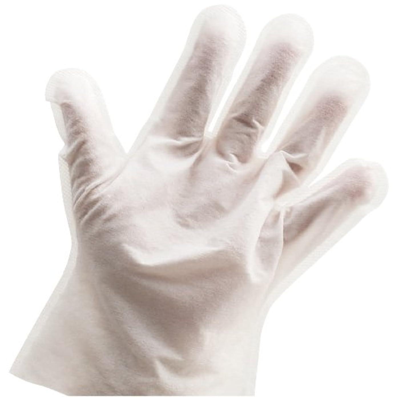 空港同一性シャンプー手袋 107405(2??) ???????????(24-4902-00)【小津産業】[80袋単位]