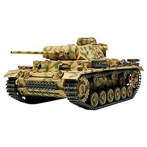タミヤ 1/48 ミリタリーミニチュアシリーズ No.24 ドイツ陸軍 III号戦車 L型 プラモデル 32524