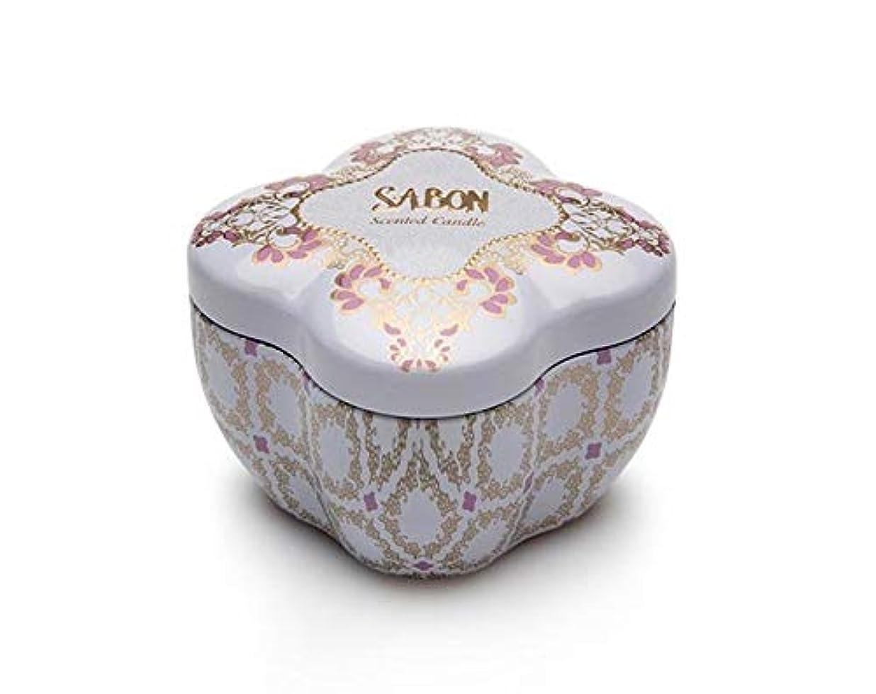 新年ヒューマニスティックこする【SABON(サボン)】SABONティンキャンドルS《ライミーラベンダー》(Limy Lavender)限定 イスラエル発 並行輸入品 海外直送