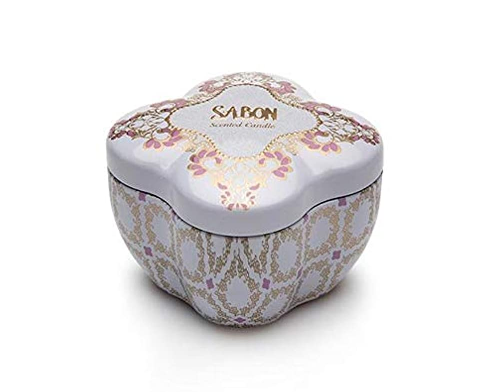つかいますコンドームスパーク【SABON(サボン)】SABONティンキャンドルS《ライミーラベンダー》(Limy Lavender)限定 イスラエル発 並行輸入品 海外直送