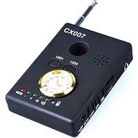 MDTEK @ CX007ワイヤレス信号RF検出器多機能アンチスパイ信号GSMバグ検出器スパイ隠しカメラレンズファインダー
