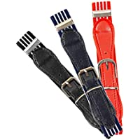 Buha Kids Adjustable Elastic Belts for Toddler with Assorted Colors, Pack of 3-4 Stretch Belts for Boys and Girls.