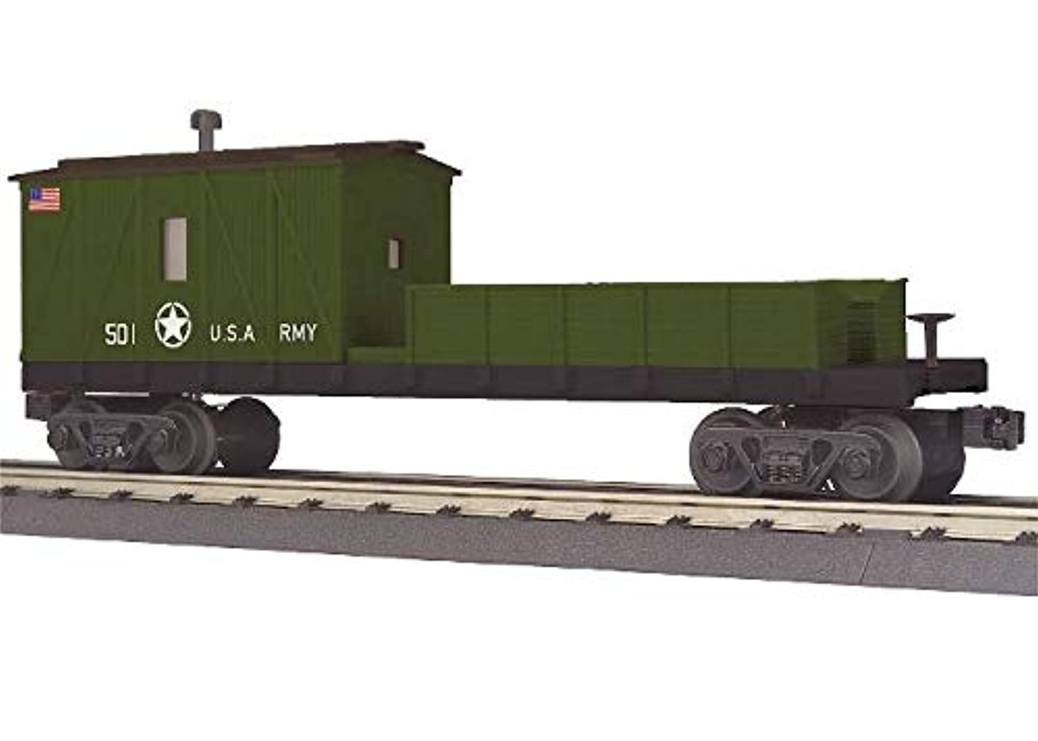 MTH TRAINS; MIKES TRAIN HOUSE U.S. Army Crane Tender CAR