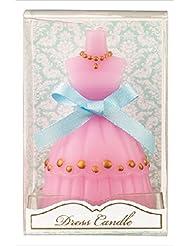kameyama candle(カメヤマキャンドル) ドレスキャンドル 「 ピンク 」 キャンドル 60x54x98mm (A4460500PK)