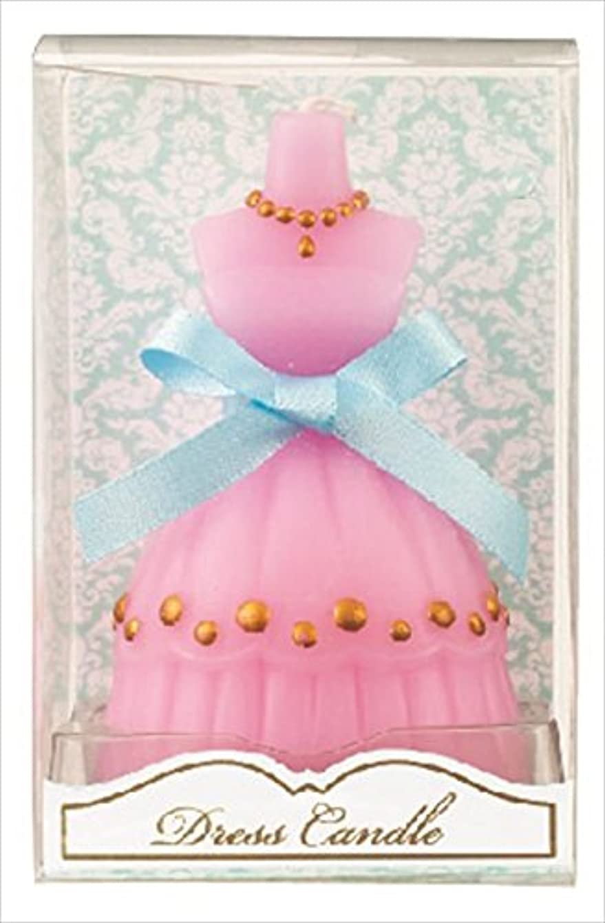 起こりやすいエイリアン後ろにkameyama candle(カメヤマキャンドル) ドレスキャンドル 「 ピンク 」 キャンドル 60x54x98mm (A4460500PK)