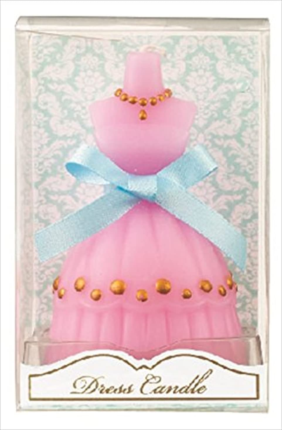 農学イブニング要塞kameyama candle(カメヤマキャンドル) ドレスキャンドル 「 ピンク 」 キャンドル 60x54x98mm (A4460500PK)