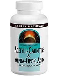 アセチルL-カルニチン&アルファリポ酸(650mg) 30錠 海外直送品